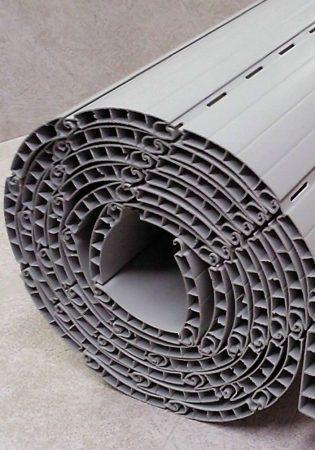 Redőnypalást, maxi műanyag léccel (55 mm)