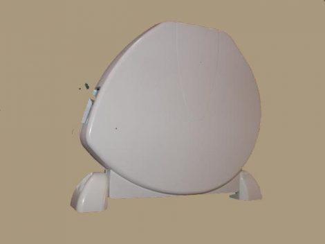 7. Kagyló formájú redőnyautomata (gurtnihoz), fehér