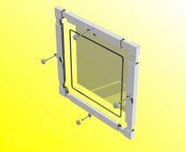 120*120-as műanyag keretes szúnyogháló szett