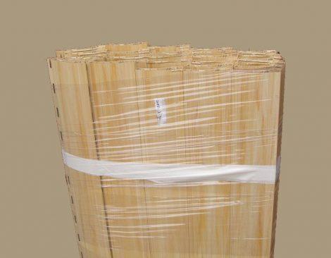 Maxi műanyag redőnyléc kötegelve  185-ös (világos fa)