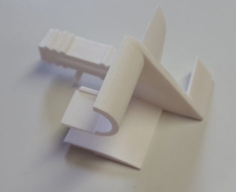 Redőnylefutó bevezető (új típusú műanyag vagy alumínium redőnyhöz)