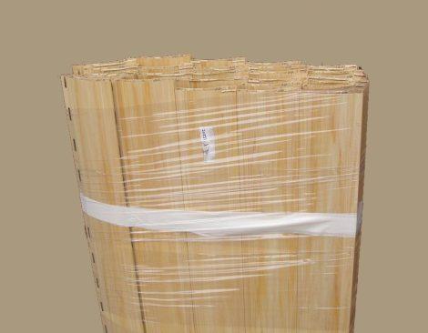 Maxi műanyag redőnyléc kötegelve  120-as (világos fa)