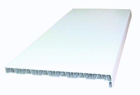 15 cm-es műanyag ablakpárkány