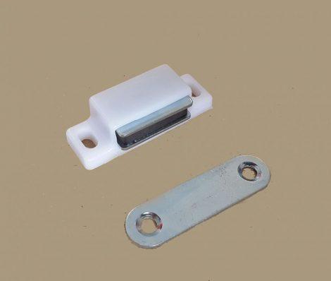 Szúnyogháló ajtó mágneszár  (fehér)