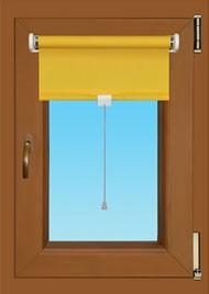Rugós roletta, fényzáró 180 cm-es magasságig