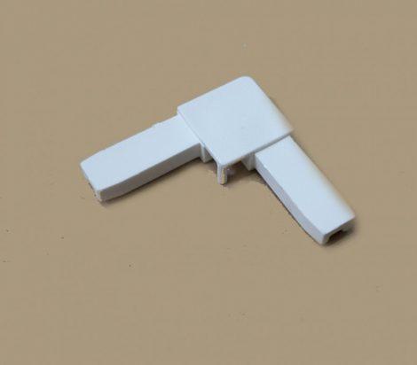 Alumínium keretes szúnyogháló sarok  (7*17 fehér)