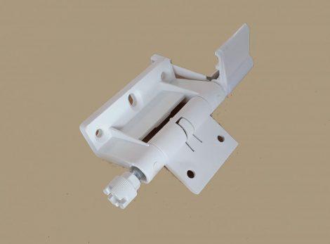 Műanyag rugós zsanér szúnyogháló ajtóhoz  (fehér)