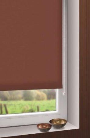Mini roló - csokoládé barna színű