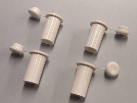 Műanyag kupakos ütköző 4 db-os szett