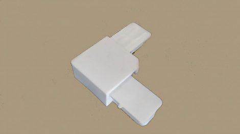 Műanyag keretes szúnyogháló sarok  (fehér)