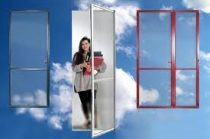 1. Zsanéros szúnyogháló ajtó
