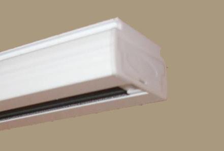 Alumínium szalagfüggöny karnis