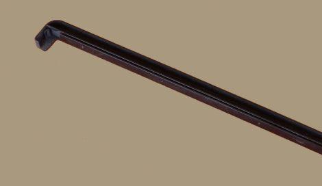Párkány végzáró, alumínium párkányhoz (barna)