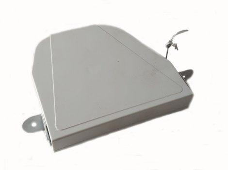 Fém füles redőnyautomata (zsinórhoz), fehér