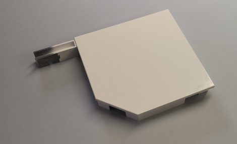 Tokvég (új típusú 165 mm 1 x 45°) alumínium