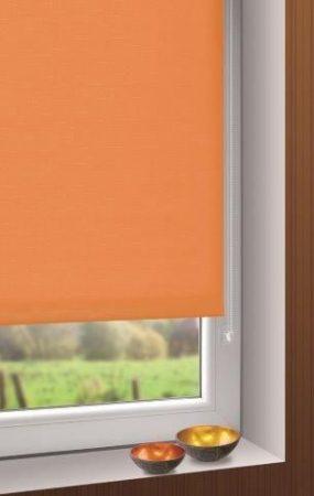Mini roló - mandarin színű